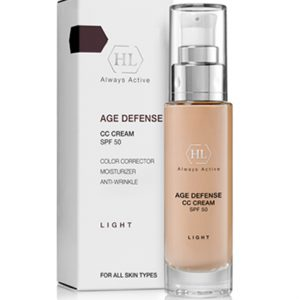 AGE DEFENCE CC CREAM SPF50 LIGHT